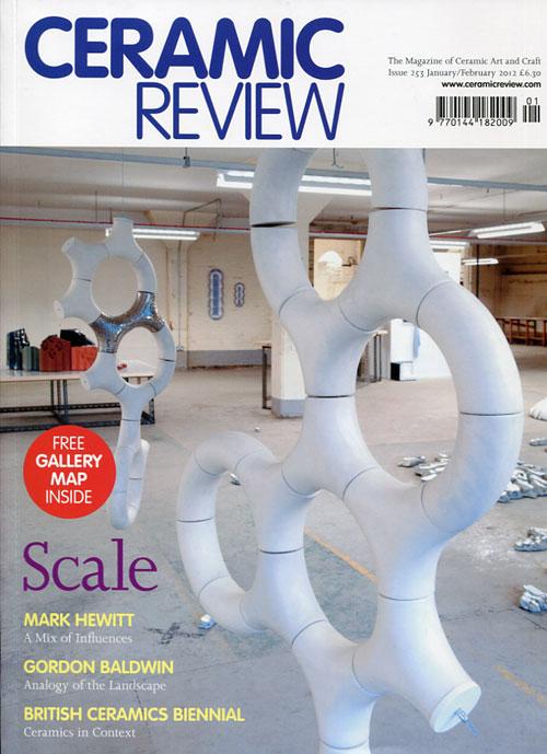 Portada de la revista Ceramica Review 253