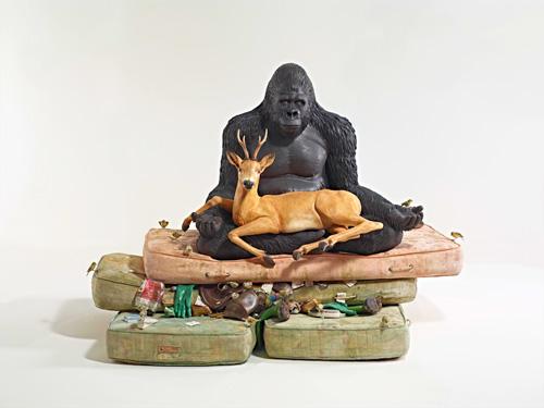 Escultura cerámica de Bertozzi & Casoni