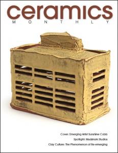 Portada de la revista Ceramics Monthly