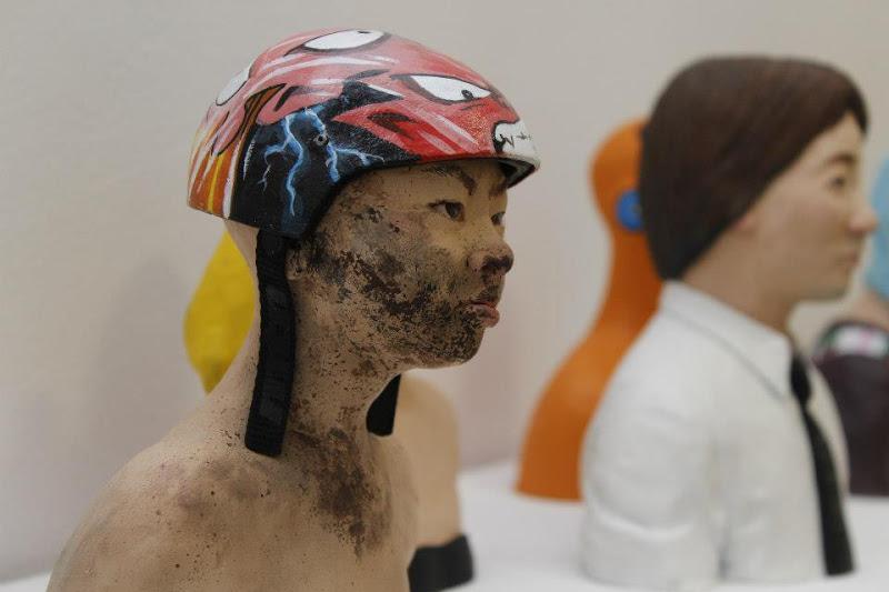 Escultura Cerámica de Javier Aguilera