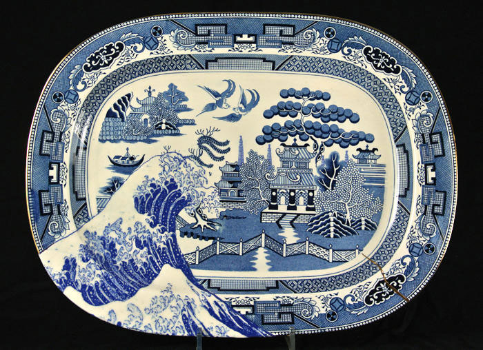 pieza de cerámica de Paul-Scott