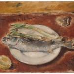Pintura al oleo de Guerrino Tramonti