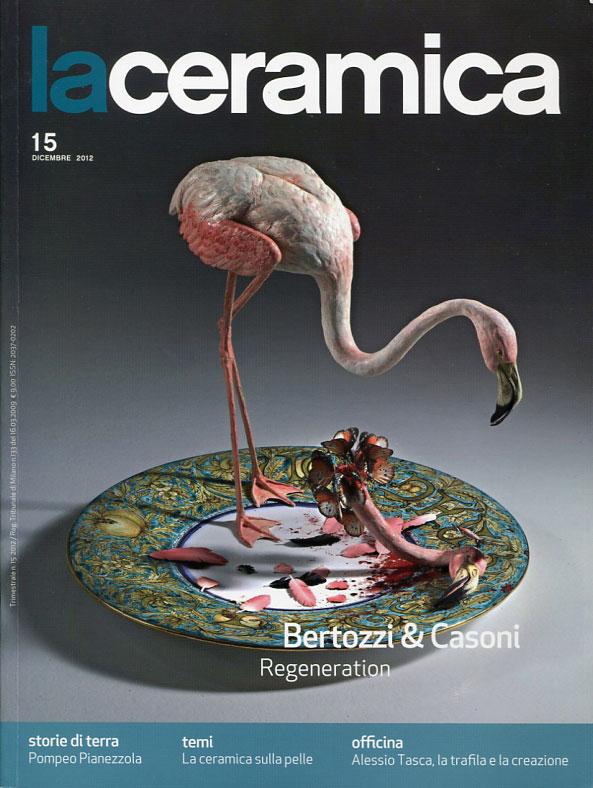 """Portada de la revista """"La Ceramica"""""""