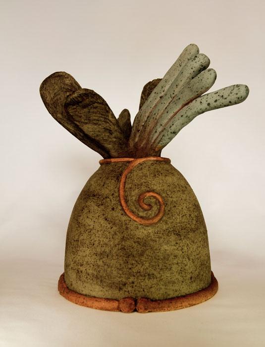 Pieza de cerámica de Dalita Navarro