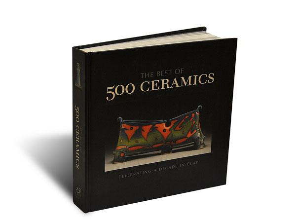 """Portada del libro """"500 Ceramics"""""""