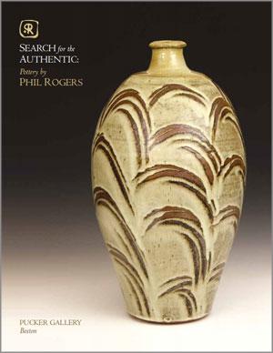 Portada del catálogo de cerámica de Phil Rogers