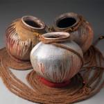 Escultura cerámica de Ray Meeker y T. Palanichamy