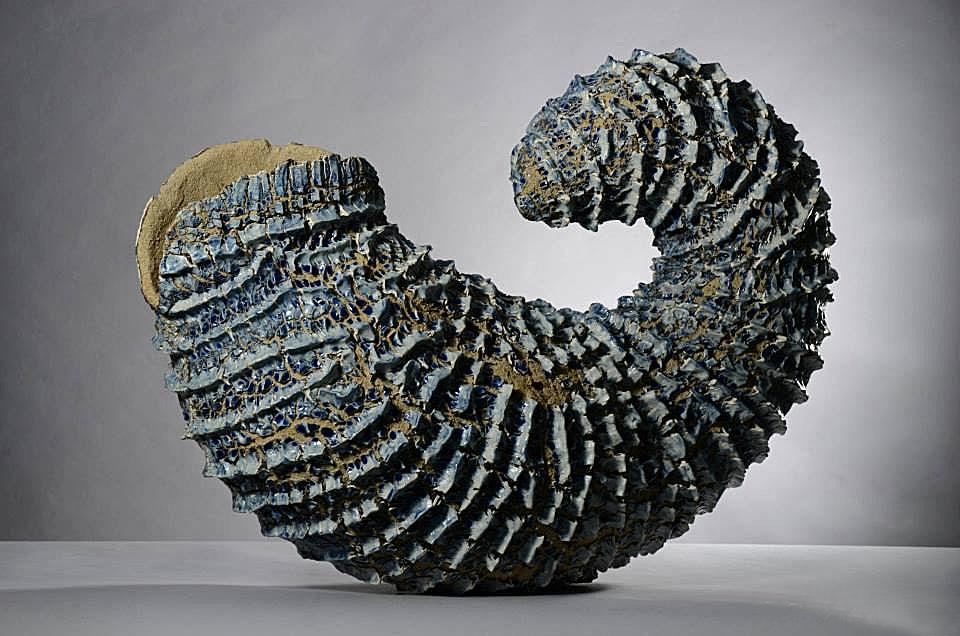 Pieza de cerámica de Lourdes Riera