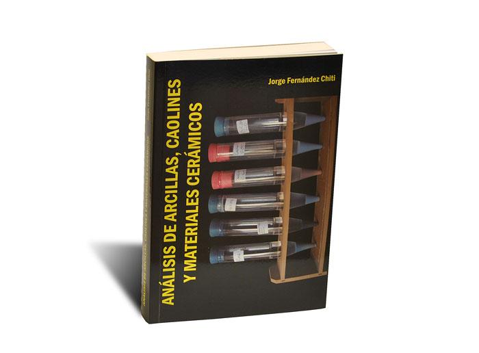 Portada del libro Análisis de arcillas, caolines y materiales cerámicos