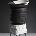 Pieza de cerámica de Elena Colmeiro