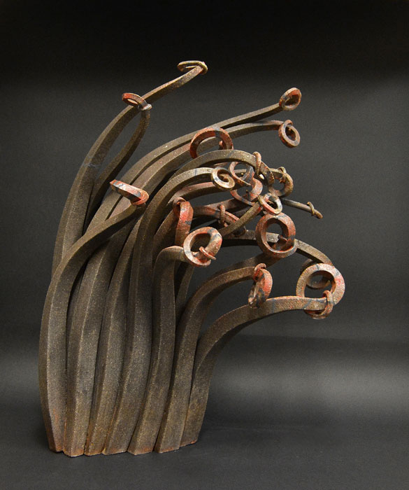 Pieza de cerámica de Alberto González