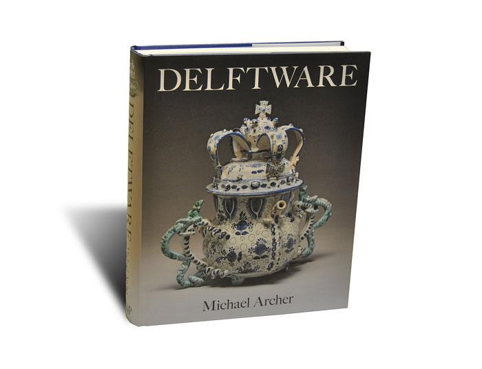 Portada del libro Delftware, de la editorial Philip Wilson Publishers