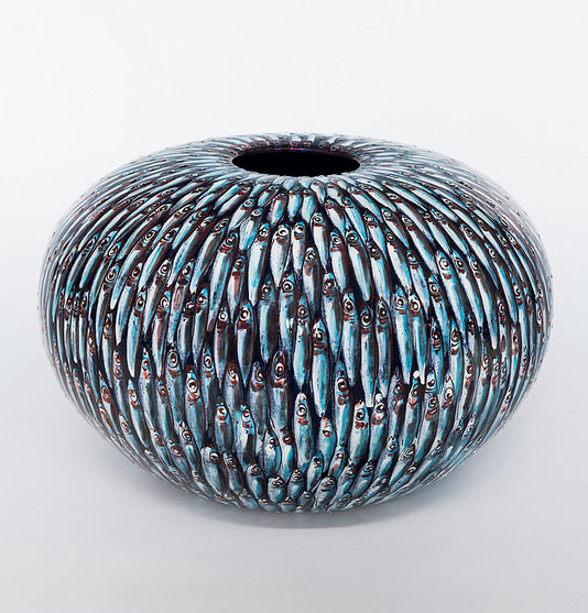 cerámica de Bottega Vignoli, Faenza (Italia)