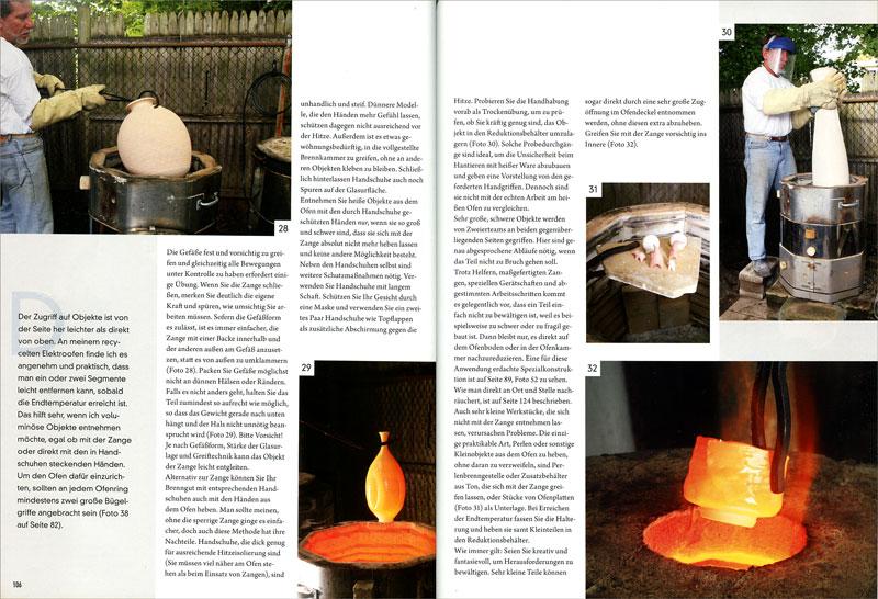 Páginas interiores del libro Raku Meisterhaftes