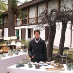Vista de la feria de cerámica gres de Chile, 2013