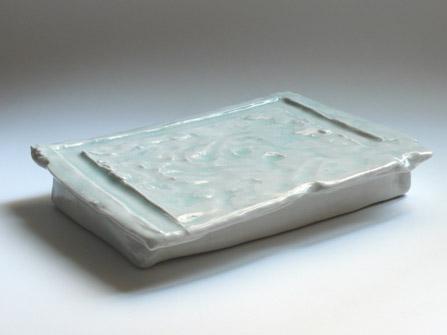 Escultura de cerámica de Maria Bofill