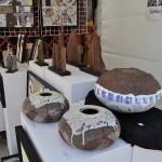 Puesto en la Feria de cerámica de Ponferrada 2013