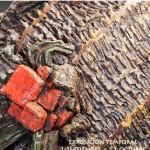 Cartel de la exposición de cerámica de Gerardo Queipo
