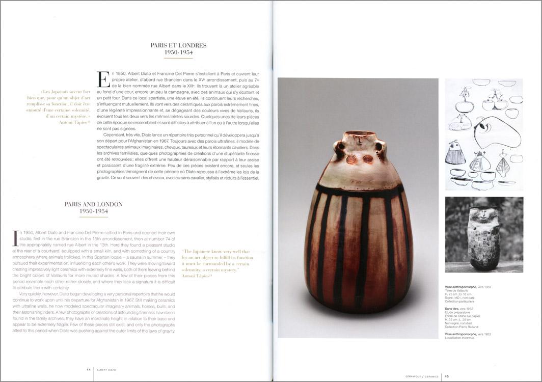 Páginas interiores del libro Albert Diato