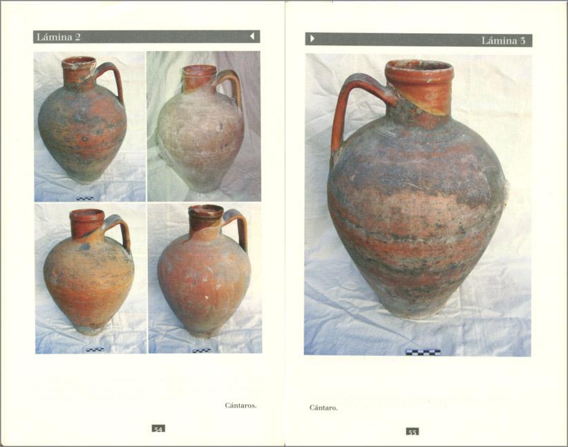 Páginas interiores del libro Alfarería Castellana