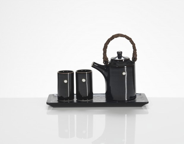 Juego de té de cerámica de Chris Keenan
