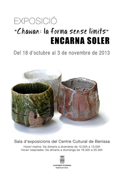 Cuencos de cerámica de Encarna Soler
