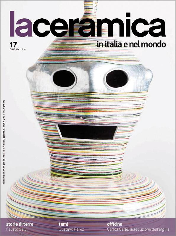 Portada de la revista La ceramica in Italia