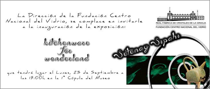 Cartel de la Exposición de Setenay Sipahi