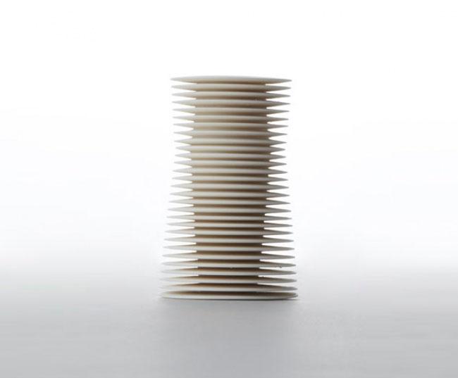 Pieza de cerámica de Nicholas Lees