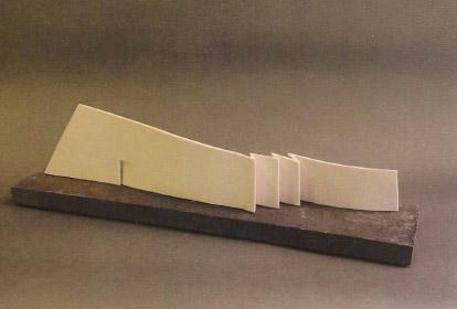 Pieza de escultura cerámica de Pepa Jordana