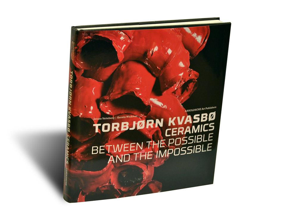 Portada del libro Torbjorn Kvasbo Ceramics