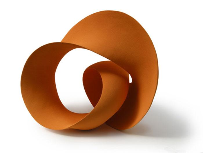 Escultura cerámica de Merete Rasmussen