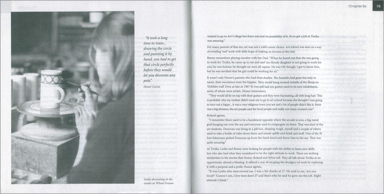 Páginas interiores del libro Troika 63-83