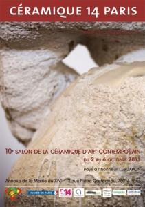 Poster de la anterior edición de Ceramique 14