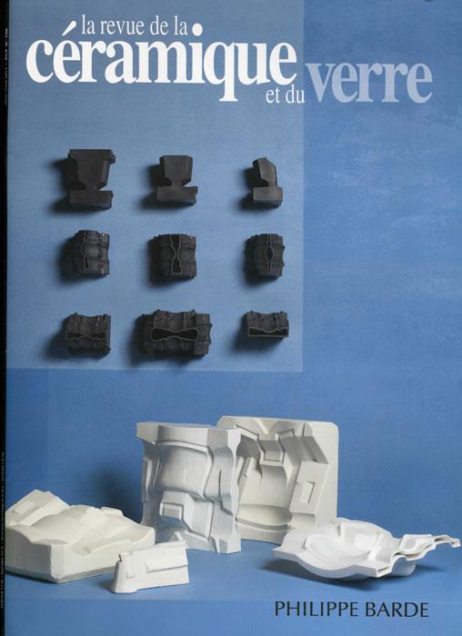 Portada de la revista La revue de la céramique et du verre