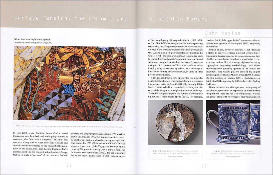 Páginas interiores del libro Stephen Bowers