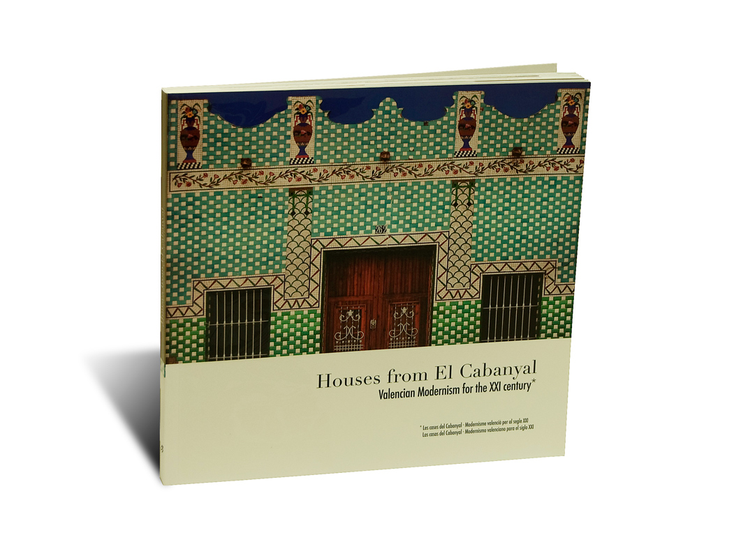 "Portada del libro ""Houses from Cabanyal"""