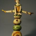 Pieza de cerámica de Marie-Pierre Meheust