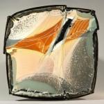 Pieza de cerámica de Patrick Rollet