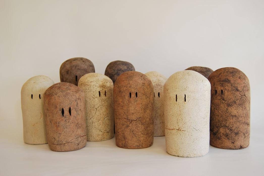 Pieza de cerámica de Cristina Guzmán Traver