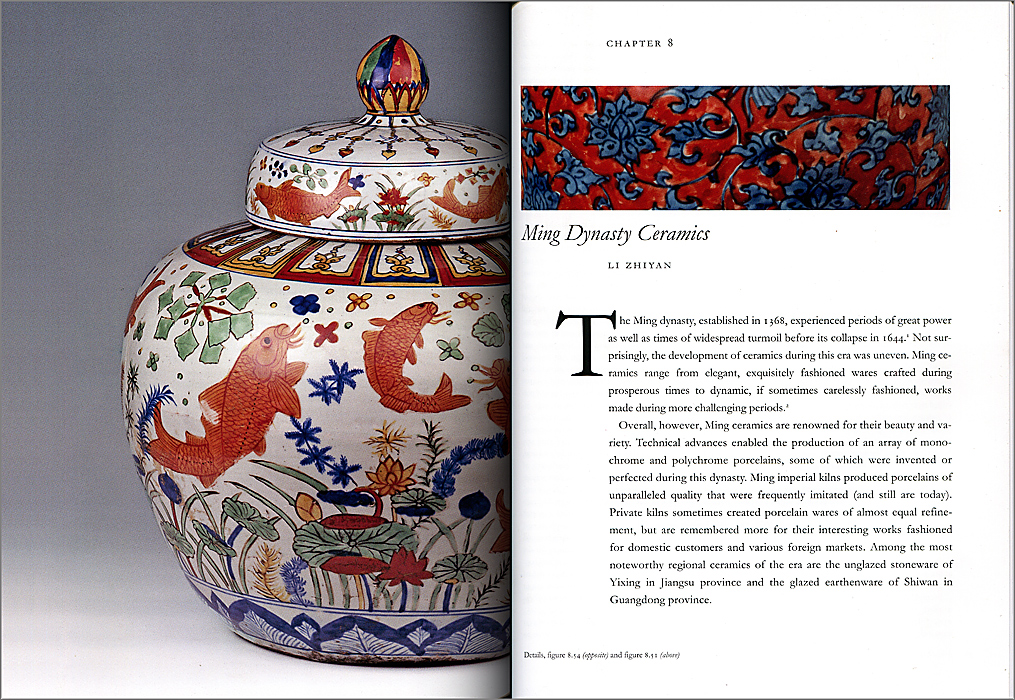 Páginas interiores del libro Chinese Ceramics