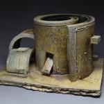 Escultura cerámica de Don Reitz