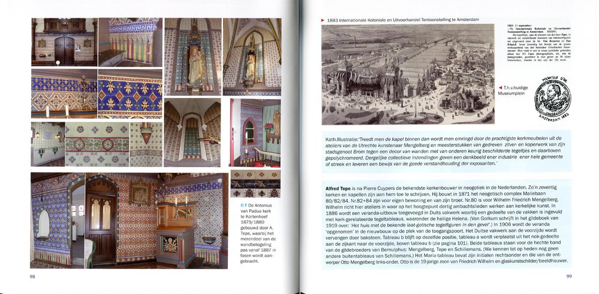 Páginas interiores del libro Utrechtse Tegels