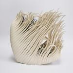 Escultura cerámica de Alberto Bustos