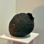 Escultura cerámica e Lourdes Riera