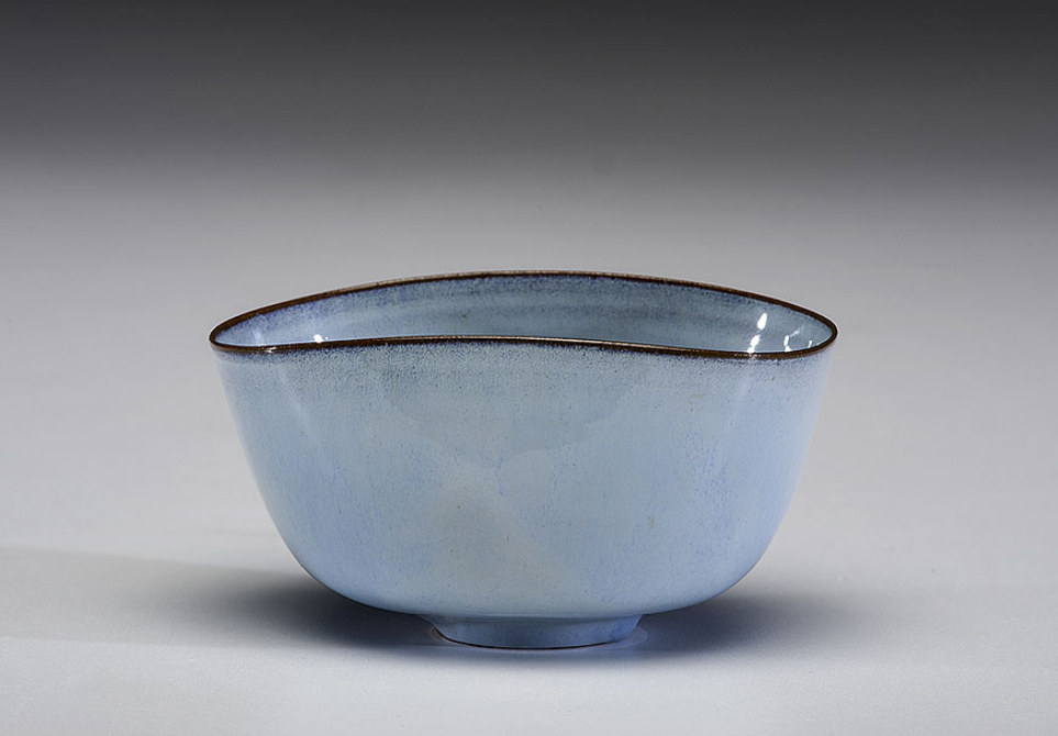 Pieza de cerámica e Gertrud y Otto Natzler