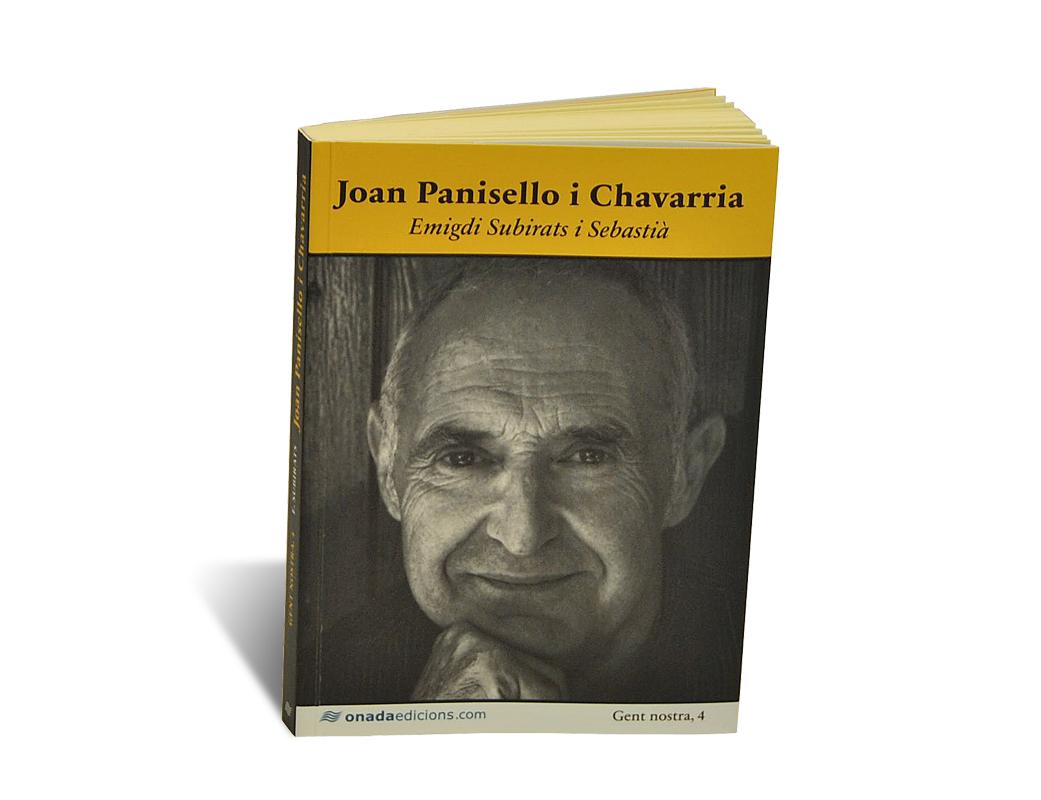 Portada del libro Joan Panisello i Chavarria