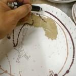 Decoración de cerámica por Therese Lebrun