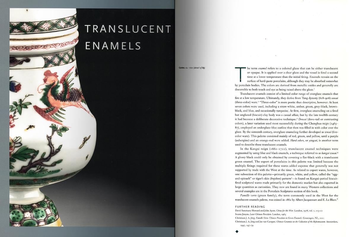 Páginas interiores del libro Treasures of Chinese Export Ceramics