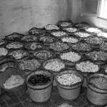 Foto de canastos llenos de escuraeta